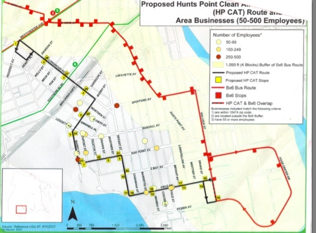 New bus route eyed for Hunts Point