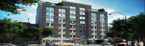Sleek new building will house seniors