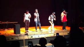 East meets west on hip-hop stage