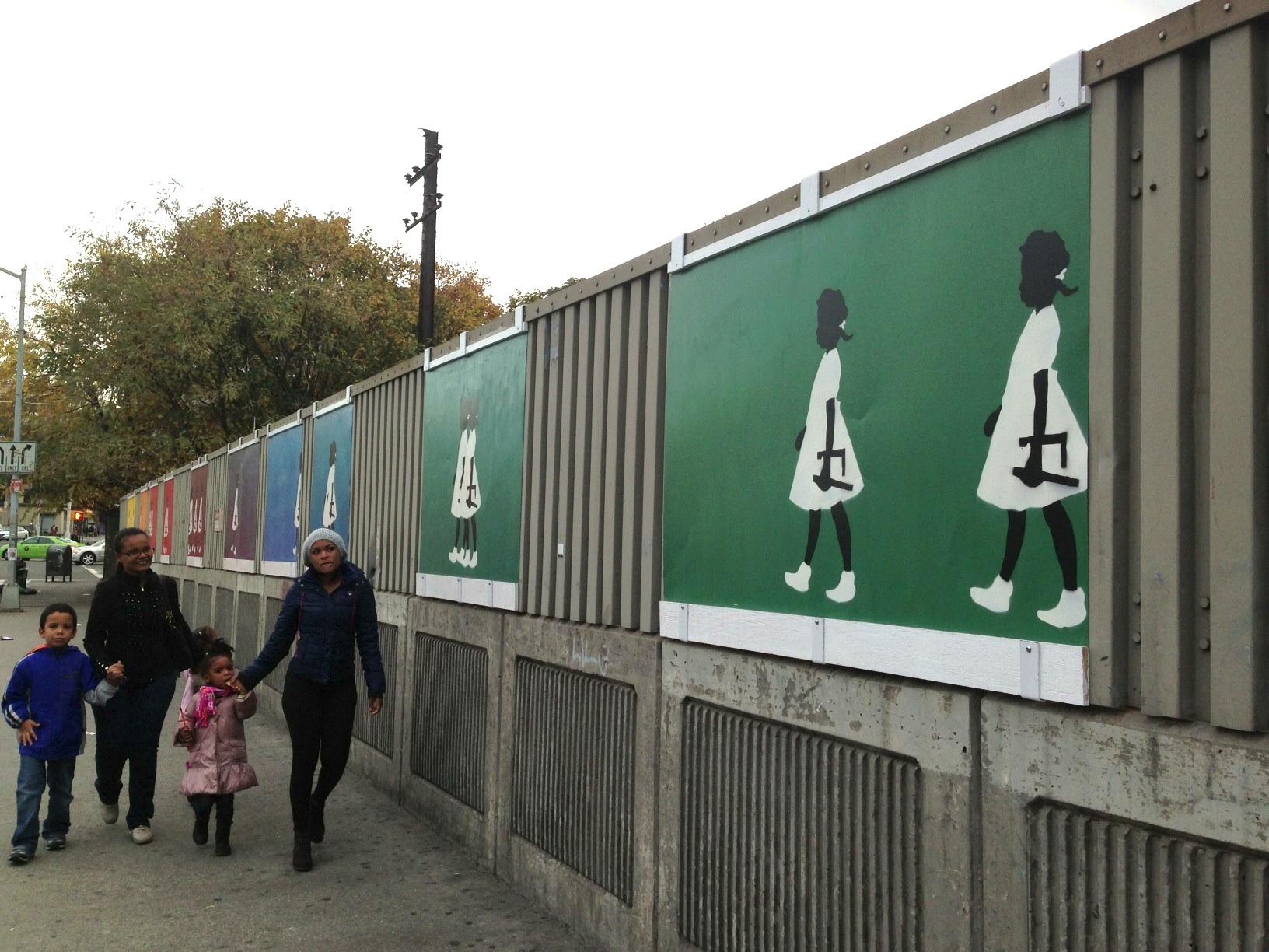 New mural evokes civil rights theme