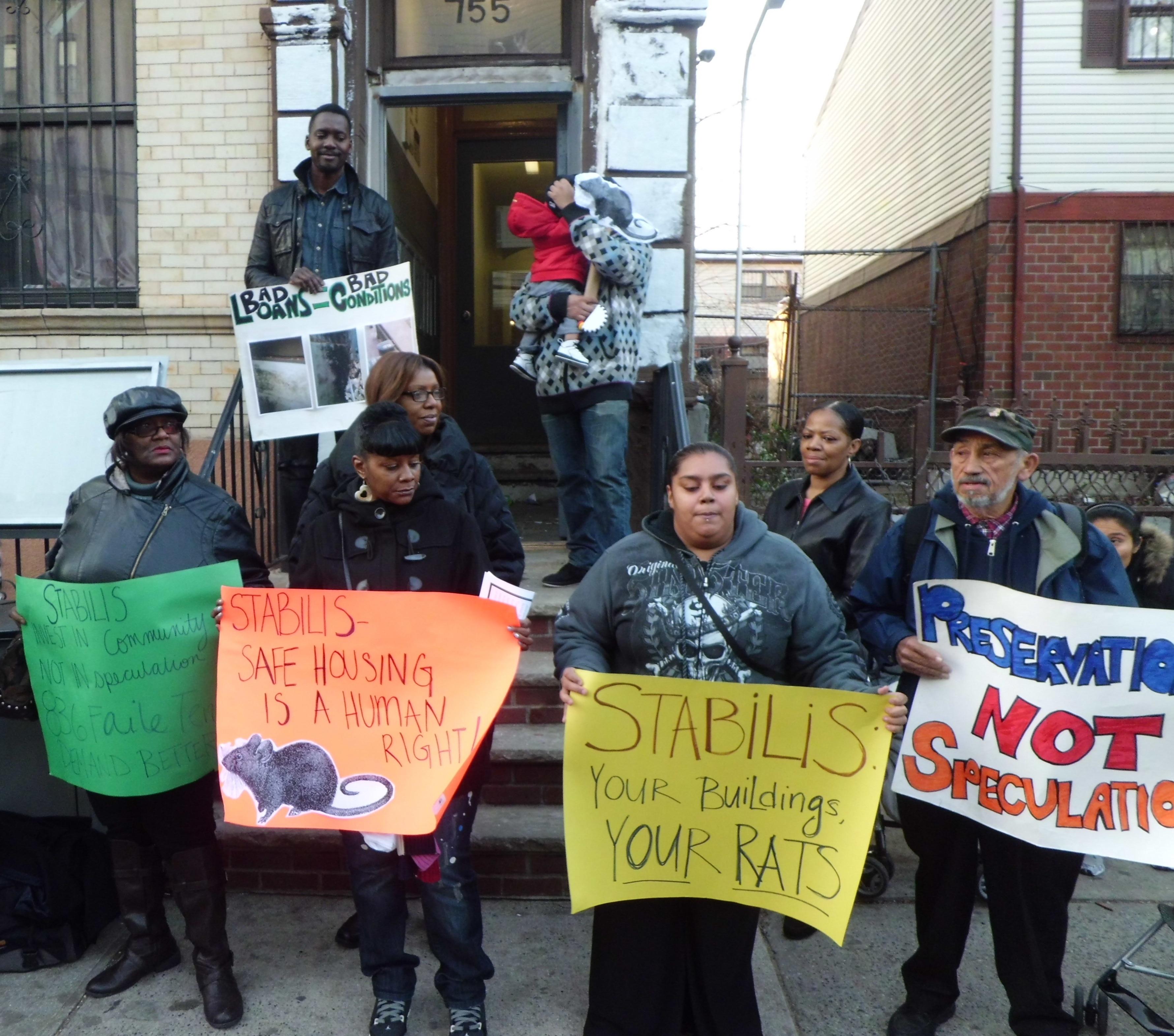 Faile Street tenants fight on