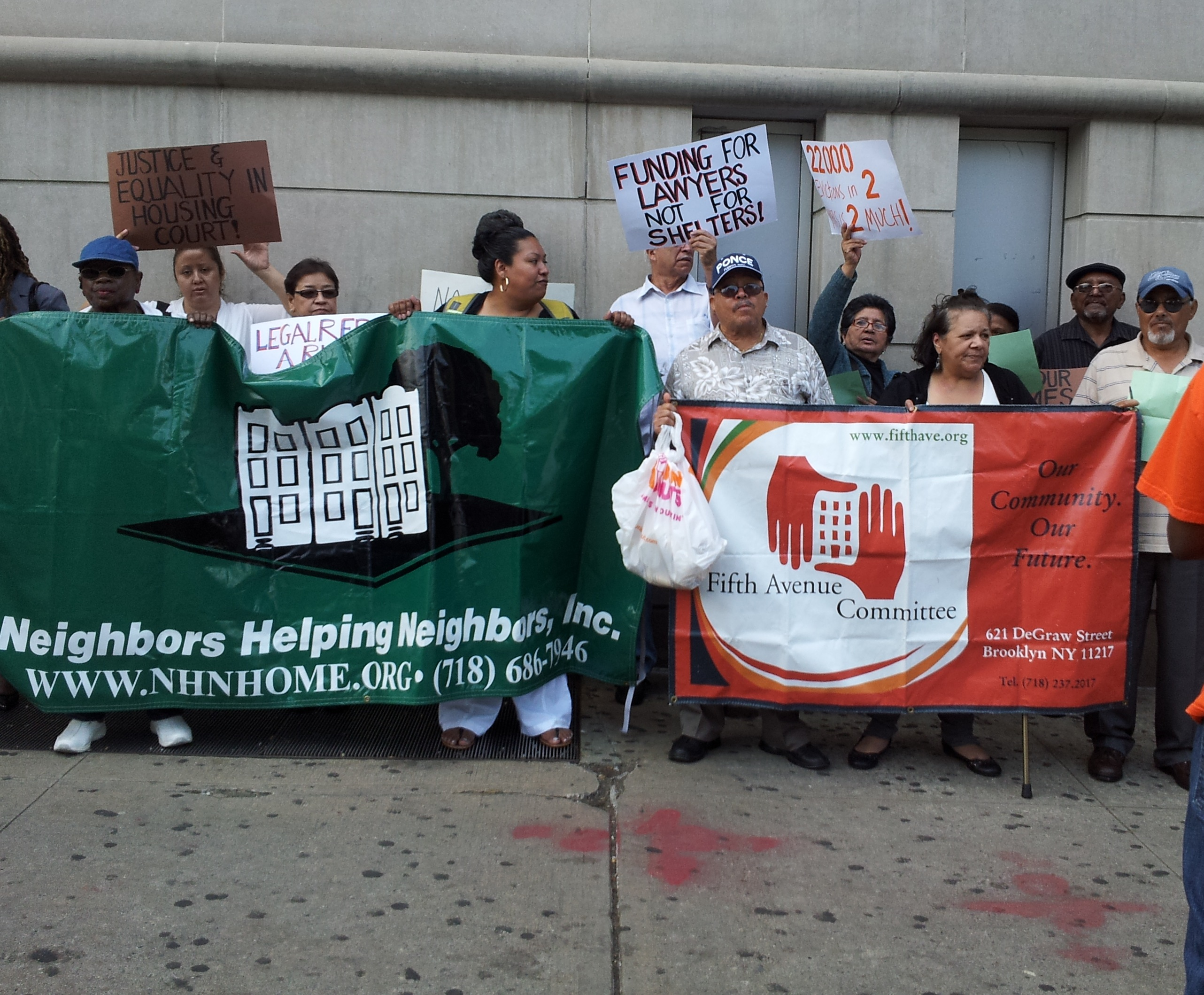 Tenants rally for legal reform