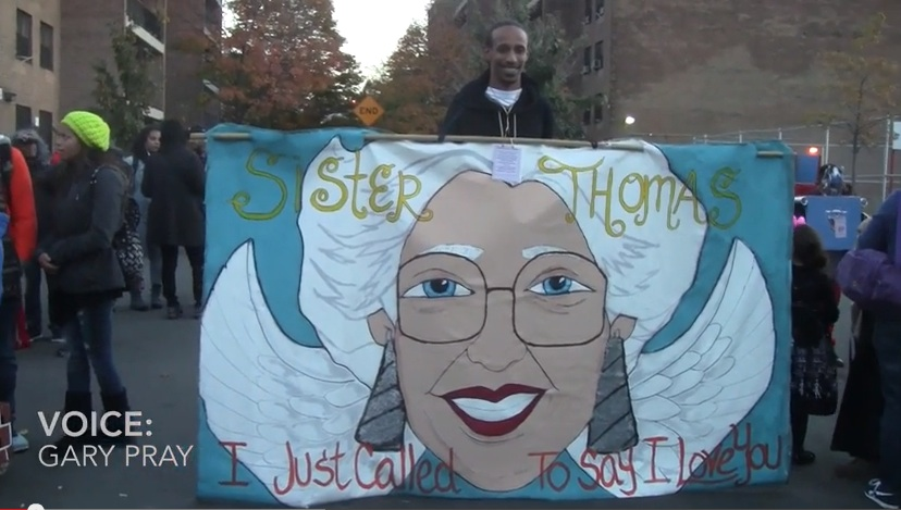 Halloween parade dedicated to legendary nun