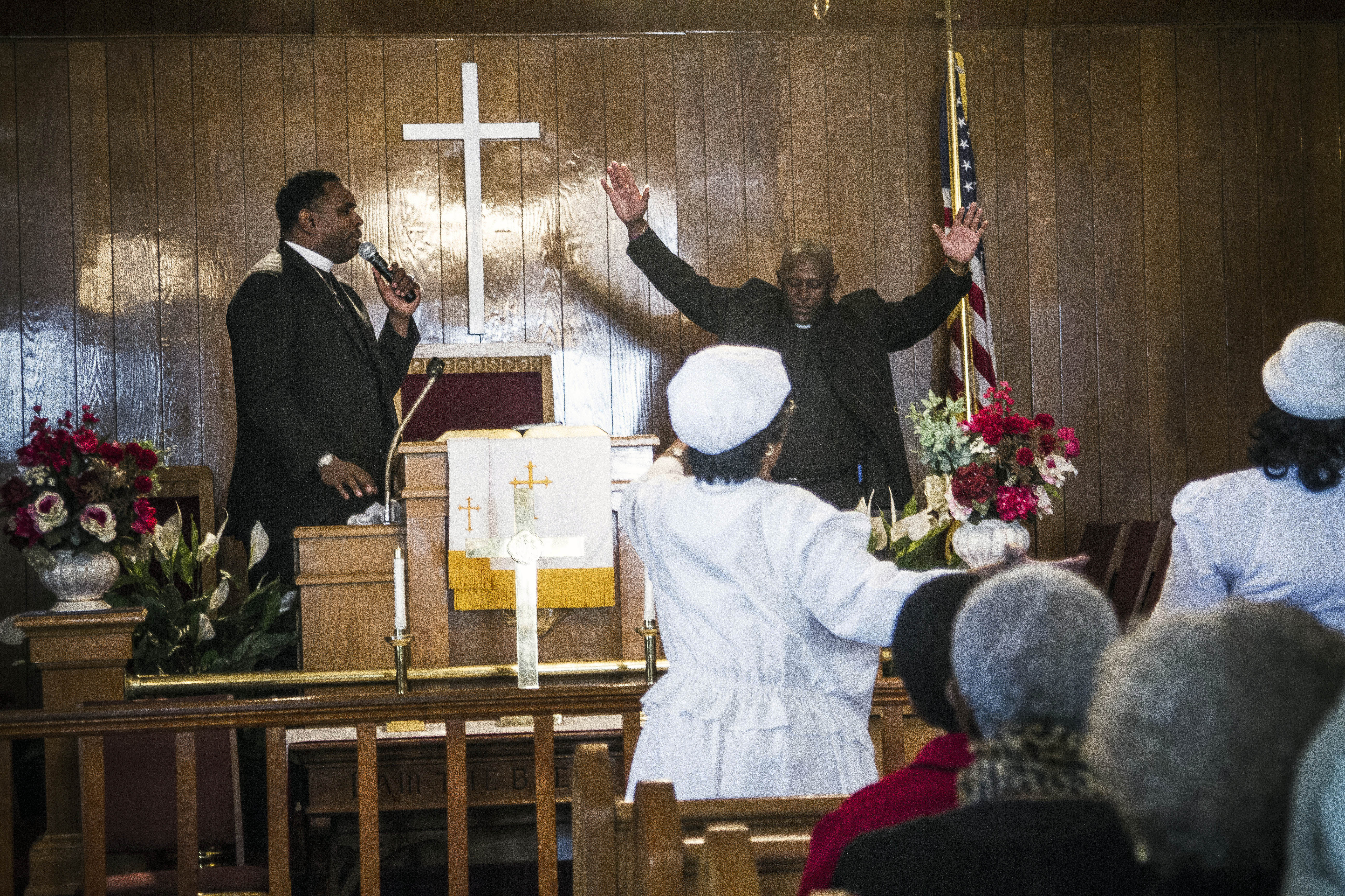 Hunts Point churches double up