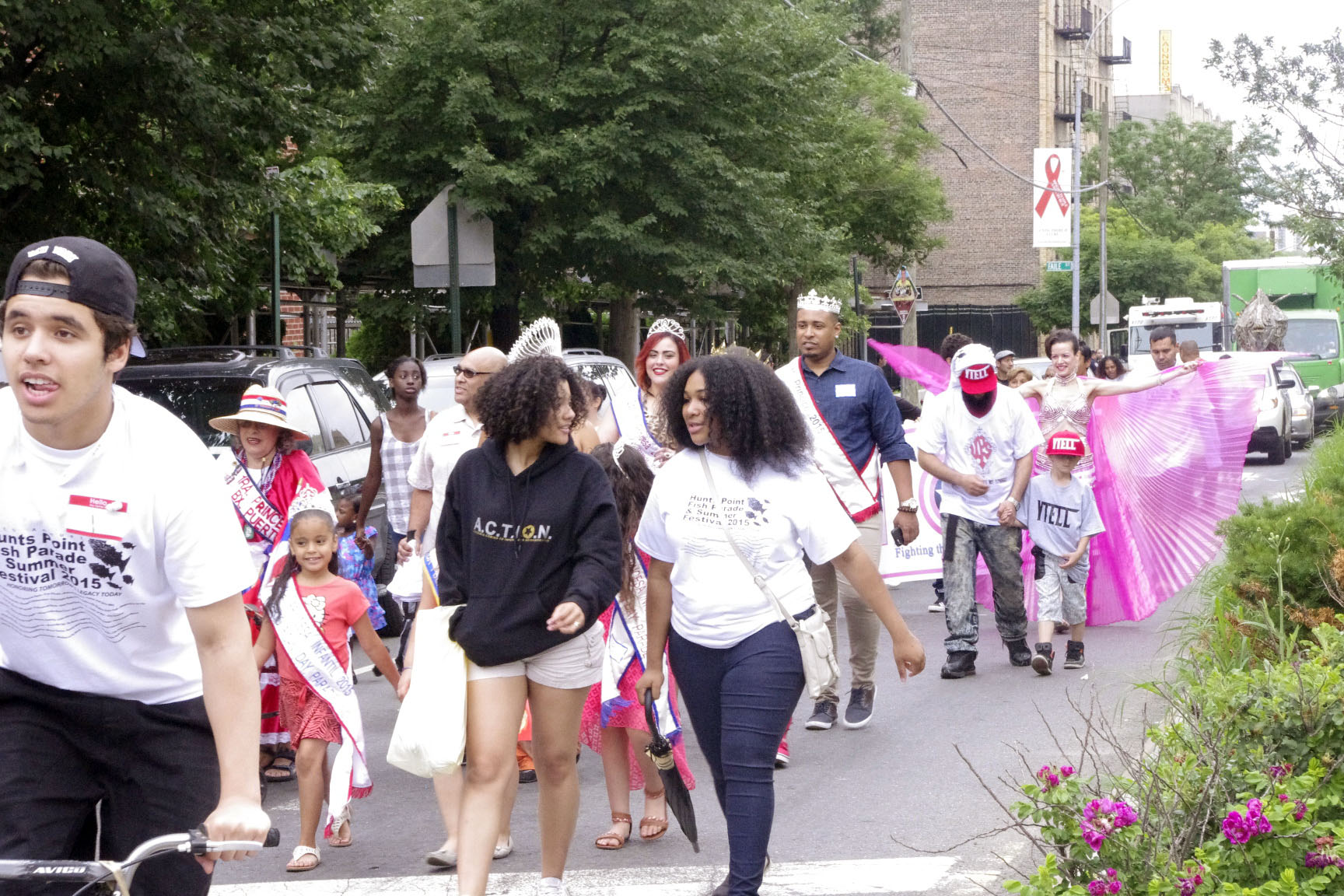 Community activists honored at Fish Parade