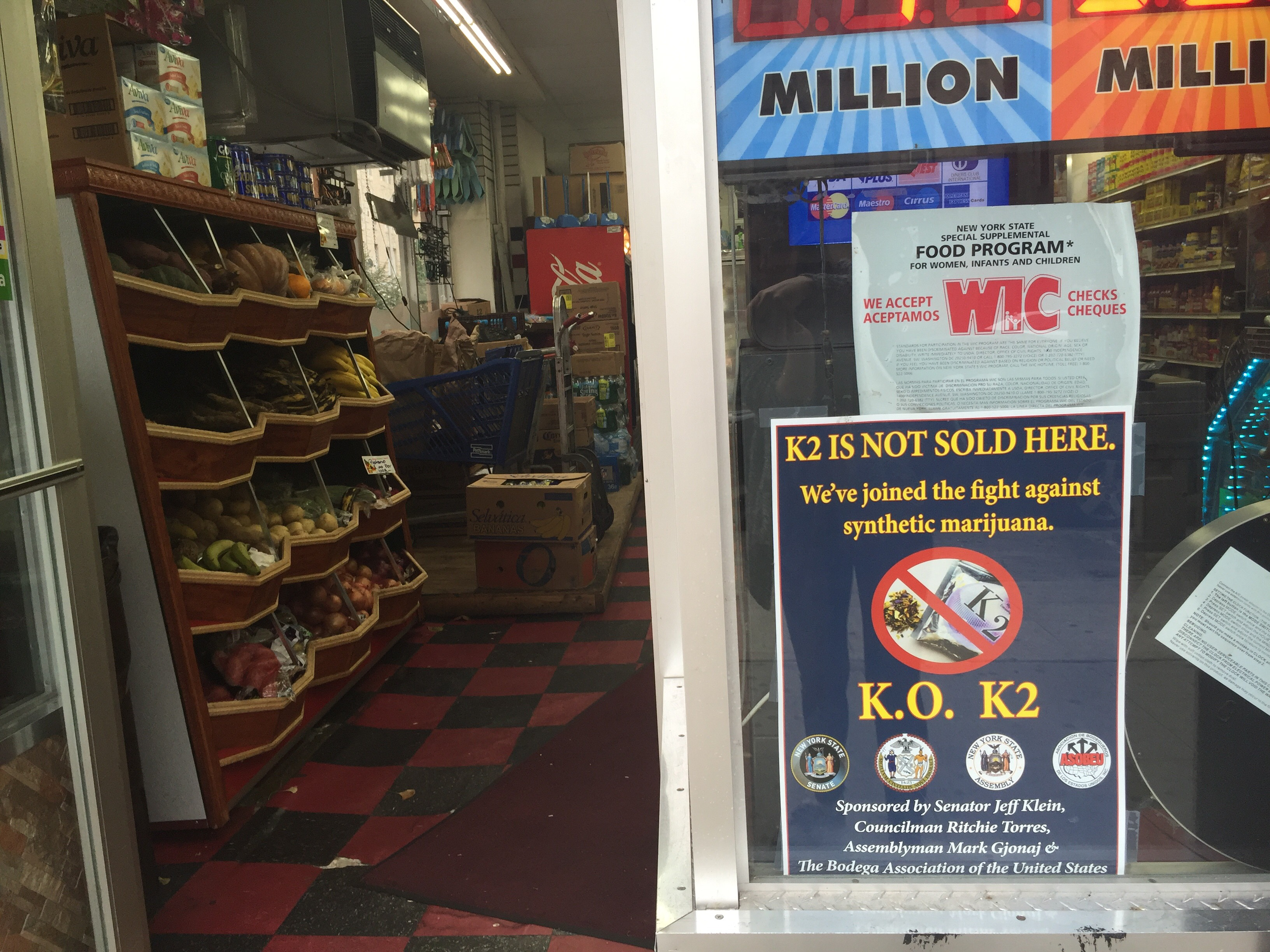 Bodegas agree not to sell K2