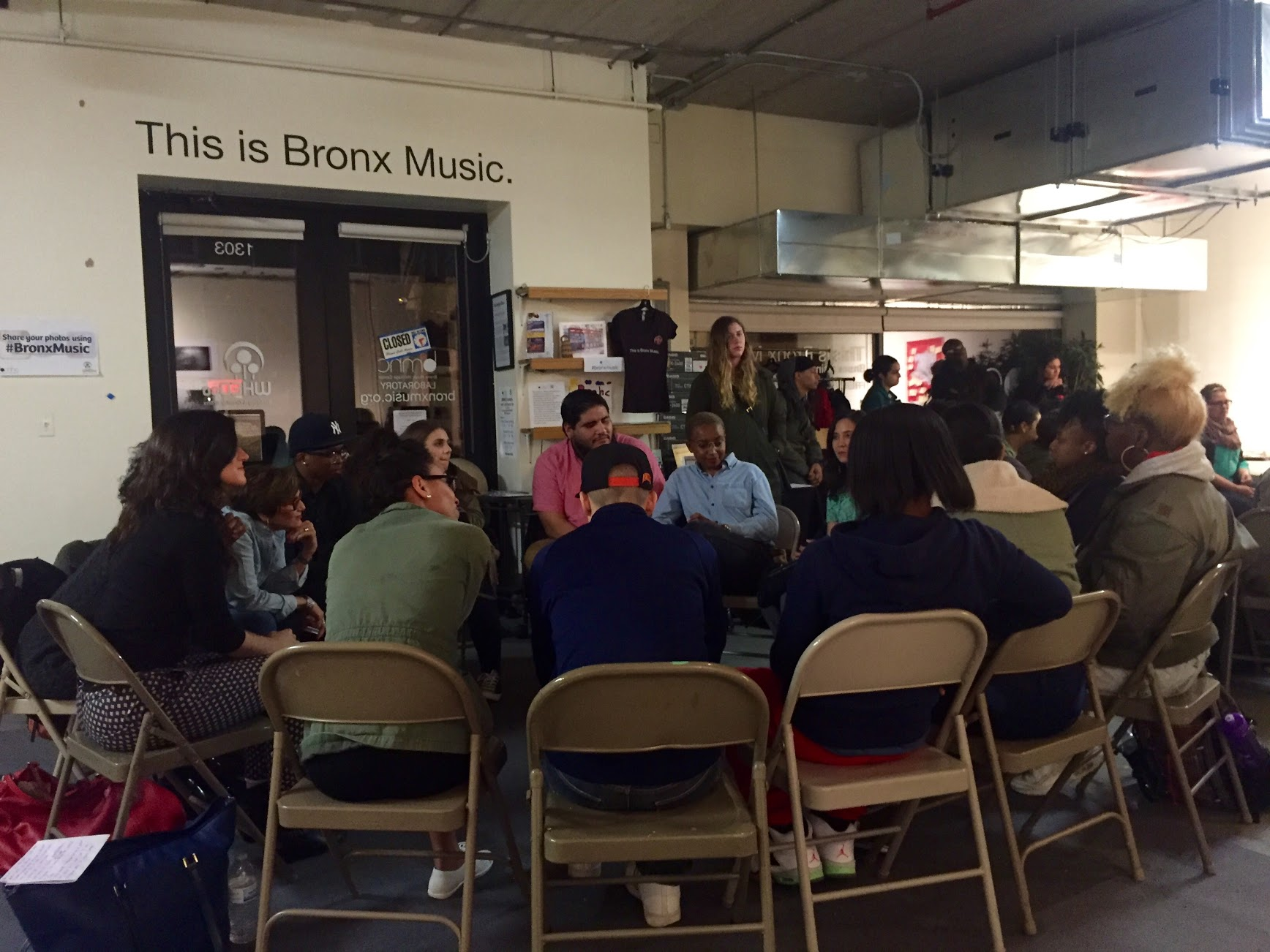 Bronxites gather to share stories, promote unity