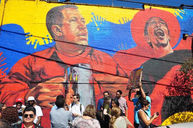 The Point receives Venezuelan foreign minister