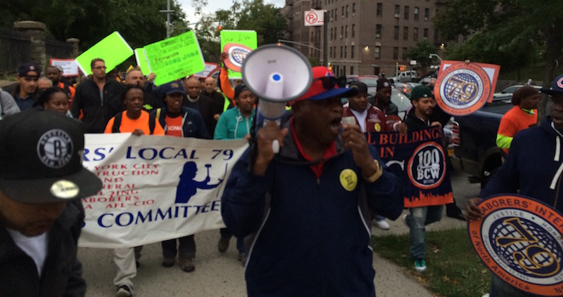 Bronxites rally against rezoning plan