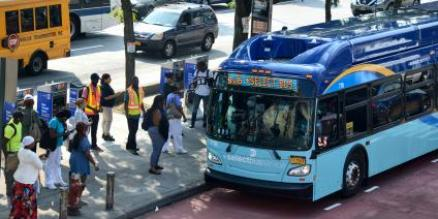 City to ramp up enforcement on drivers who use express bus lane