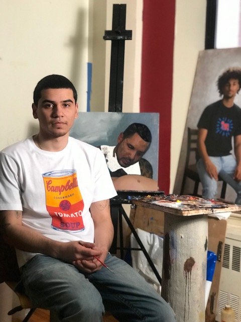 Young Bronx painter is on the rise