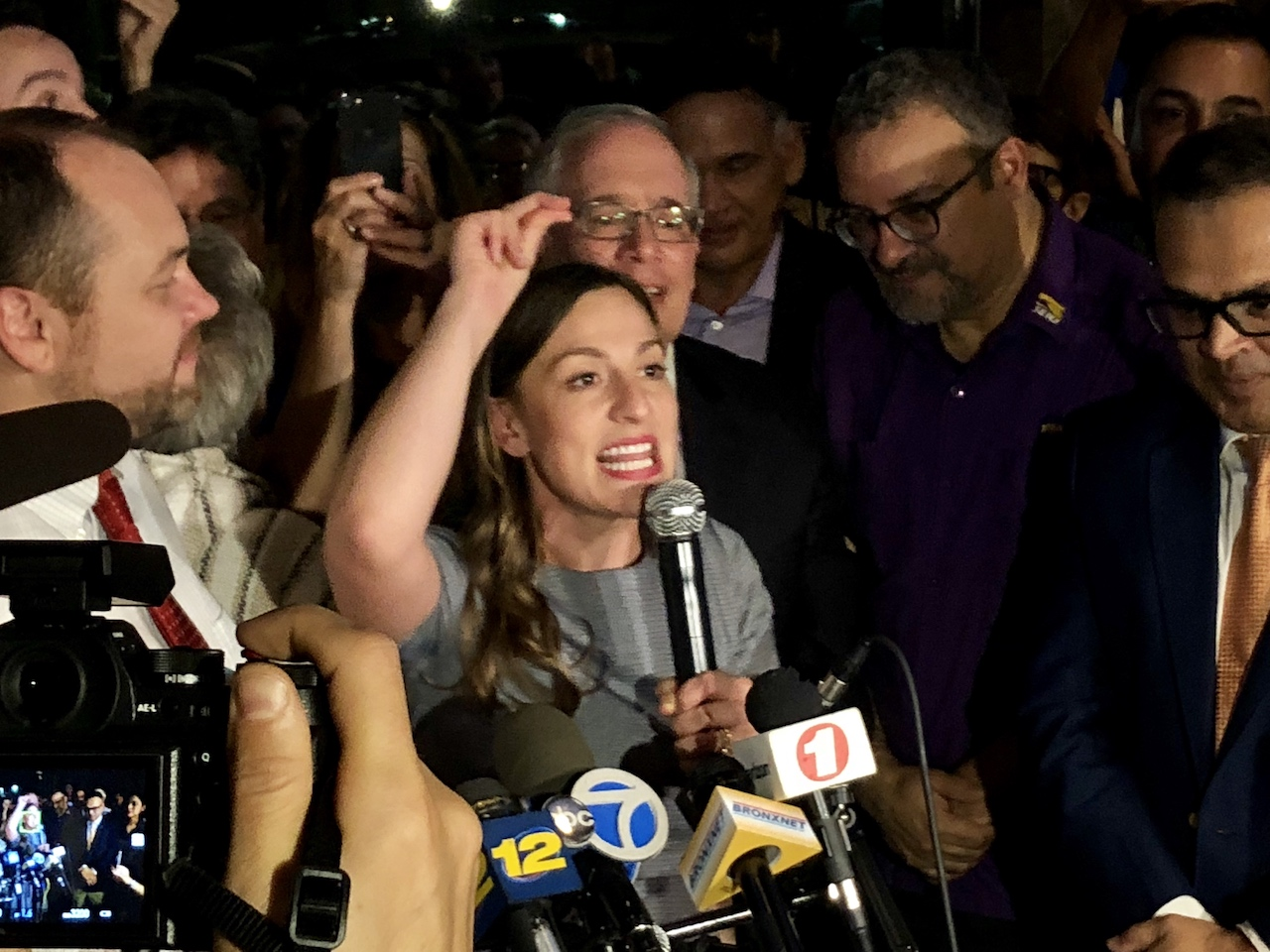 Upstart rocks Bronx political world