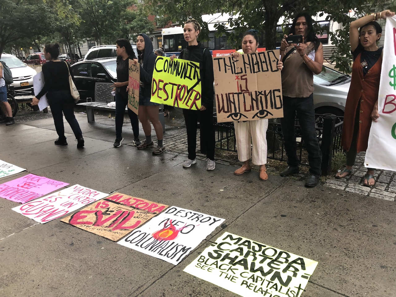 Public discussion over community land trusts sparks protest