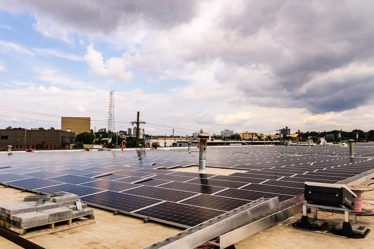 Local company harnesses the sun to power the neighborhood
