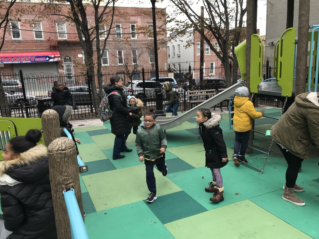 Longfellow Playground officially opens