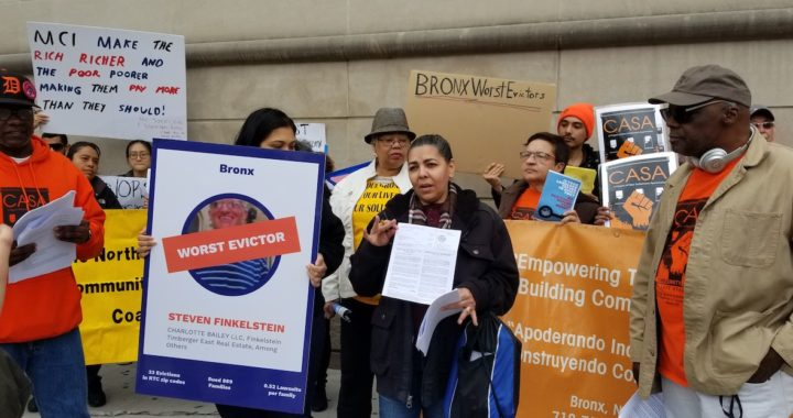 Bronx tenants evict their landlords