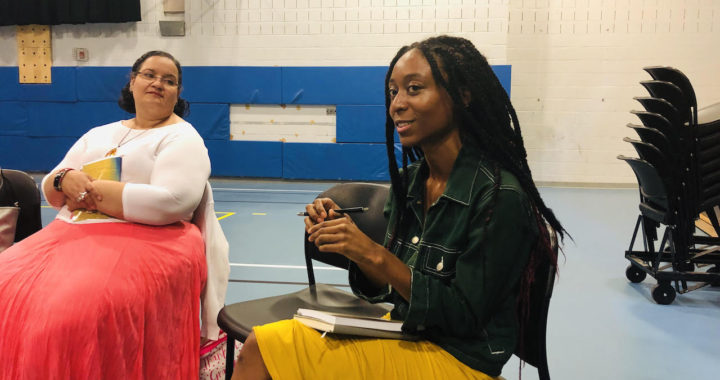 Women of color unite at One Book, One Bronx