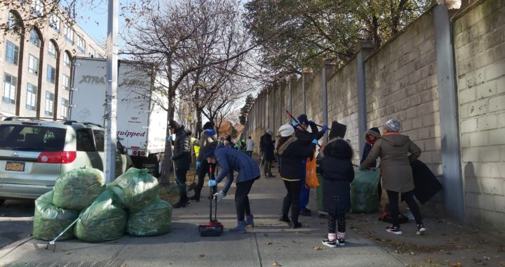 Volunteer turnout boosts cleanup initiative