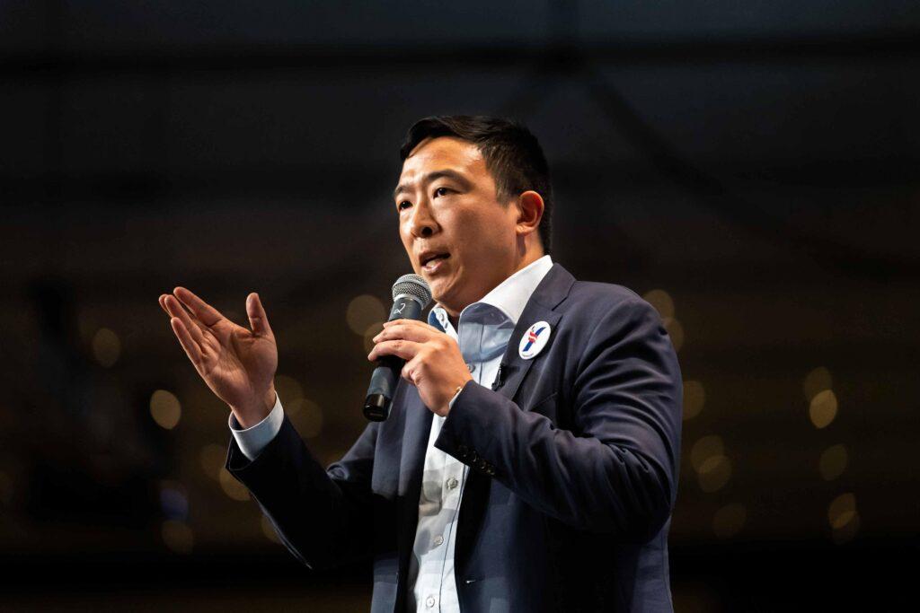 Andrew Yang of Humanity Forward Source: movehumanityforward.com