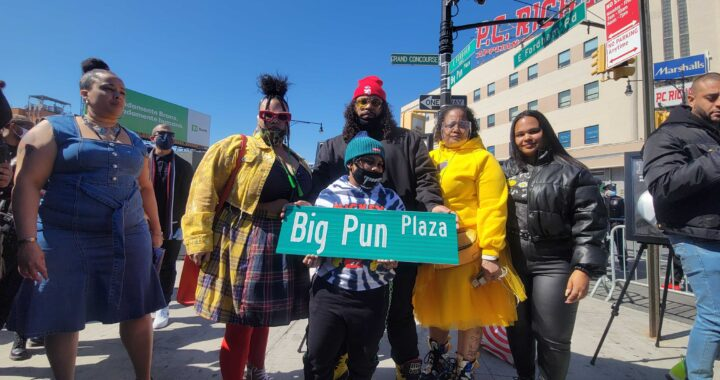 Big Pun gets street renaming in Fordham