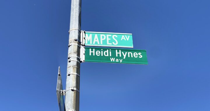 Intersection dedicated to Hynes, who dedicated her life to the Bronx